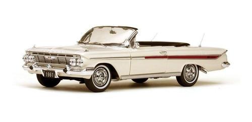 1961 Chevrolet Impala Branco - Escala 1:18 Sun Star S/ Juros Original