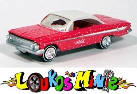 Johnny Lightning ´61 Chevy Impala Ss Coca-cola Coke Lacrado Original