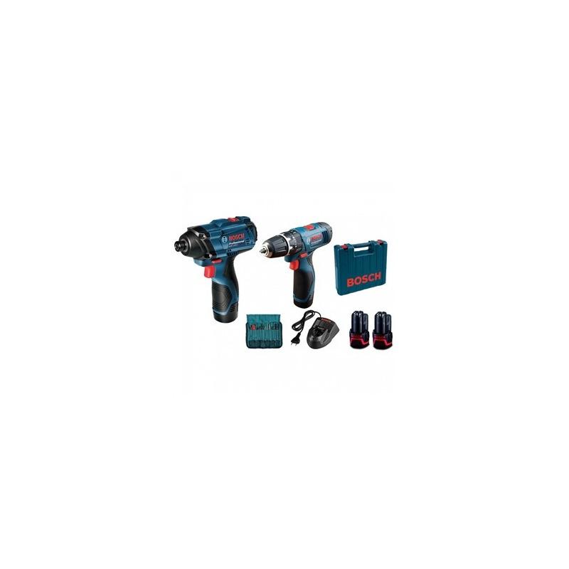 Parafusadeira/Furadeira Bosch à Bateria GDR+GSB LI Bivolt
