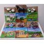 Coleção 6 Livros Miniaturas Animais Da Fazenda D'agostini
