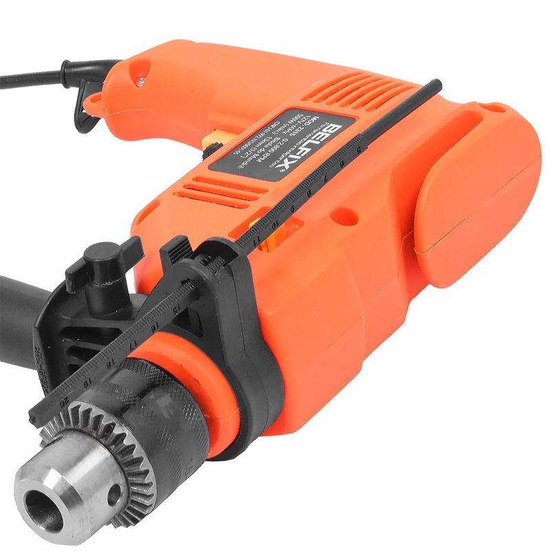 Kit Furadeira de Impacto 500 Watts + Bits e Brocas - Belfix - 220 Volts
