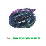 CAPACETE  HIGH ONE MOD: LM 056PRETO/ROSA