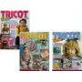 Kit Revistas Crochê E Tricô Bebê Infantil Artesanato