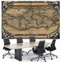 Mapa Mundi Antigo Séc. 16 65cmx100cm