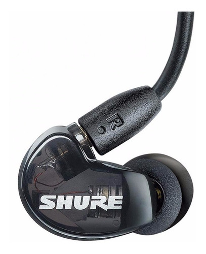 Fone In Ear Shure Se215 -black  Original