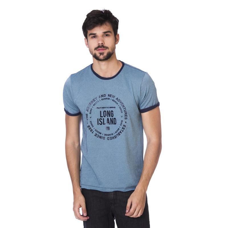 Camiseta Long Island Journey Azul