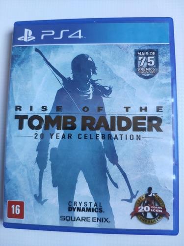 Rise Of Tomb Raider Ps4 Midia Física Semi Novo Envio Imediat Original