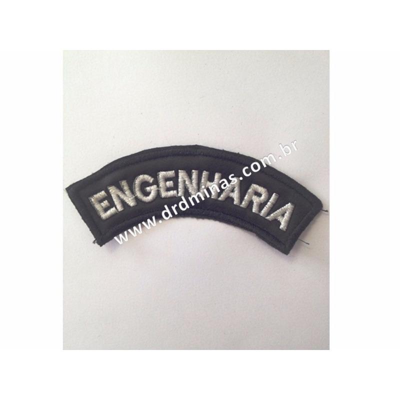 Distintivo Bordado Engenharia
