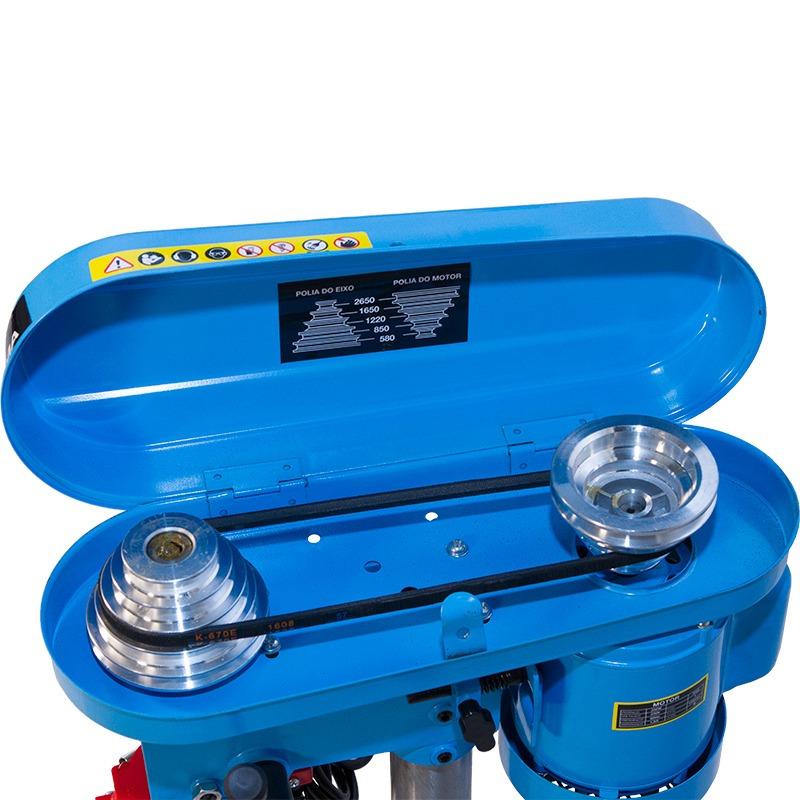 Furadeira de Bancada 500W 16mm - G2321BR2 - Gamma Ferramentas - 220V