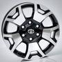 Jogo De Rodas Toyota Hilux Aro 17 Srx Diamond Bicos
