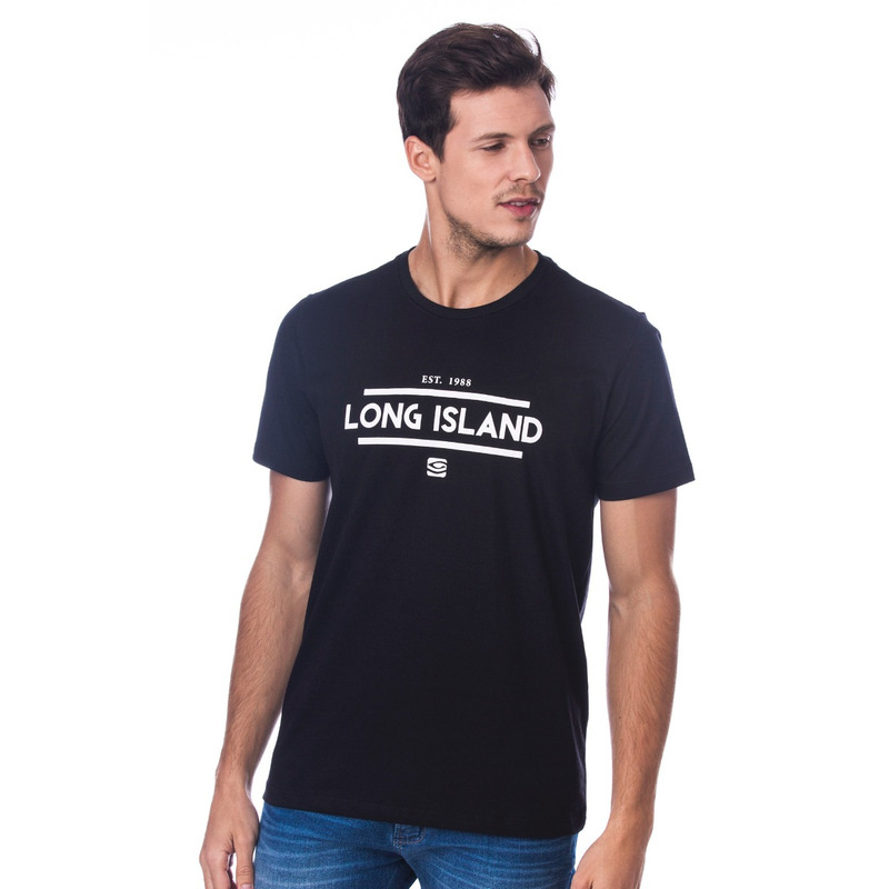 Camiseta Long Island TM Preta