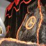 Capa De Banco Caminhão Chenil Com Logo Mb Axor Atego