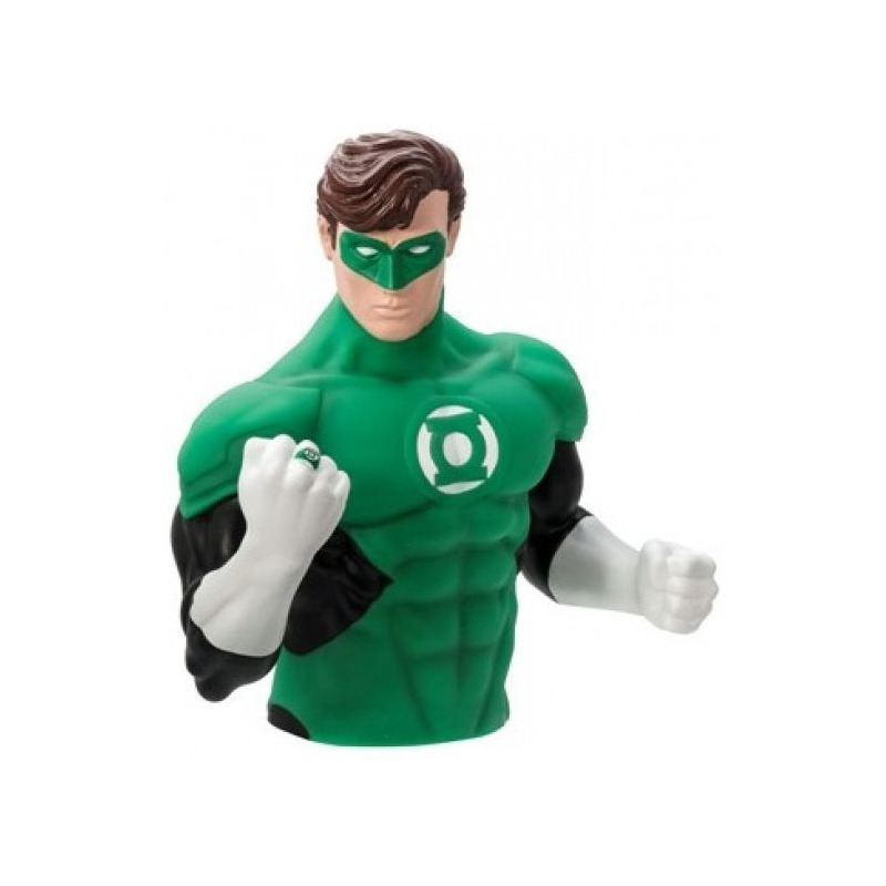 Cofre Busto Lanterna Verde - Green Lantern Bust Bank - Monogram