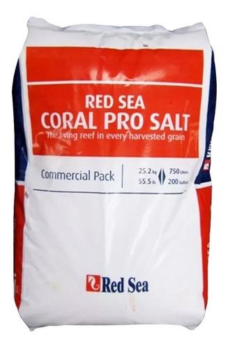 Red Sea Coral Pro Salt 25,2kg Sal P/ Aquário Marinho P/ 750l Original