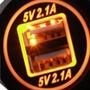 Carregador De Telefone Celular Do Carro, Motor/ventilador Ca