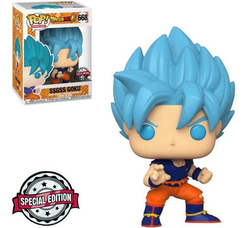 Funko Pop! Dragon Ball Ssgss Goku Special Edition #668 Original