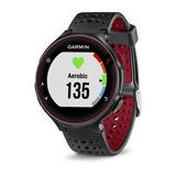 Relógio GPS Monitor Cardíaco Forerunner 235 HRM no Pulson Vermelho e Preto Garmin 010-03717-70