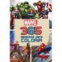 Livro 365 Desenhos Para Colorir Infantil Heróis Vingadores