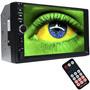 Central Multimídia Universal Mp5 2din 7.0 Pol Bt Usb Sd Aux