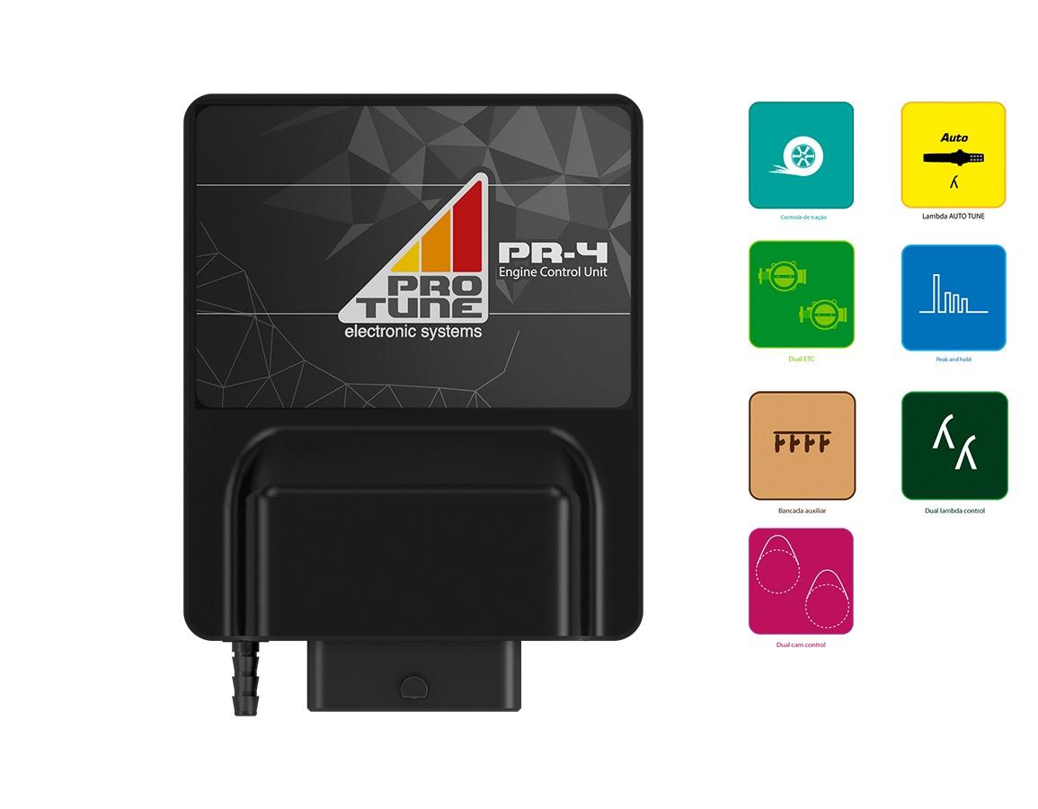 Combo PR-4 FULL + Dash 4.3 + Pré Chicote + camiset...