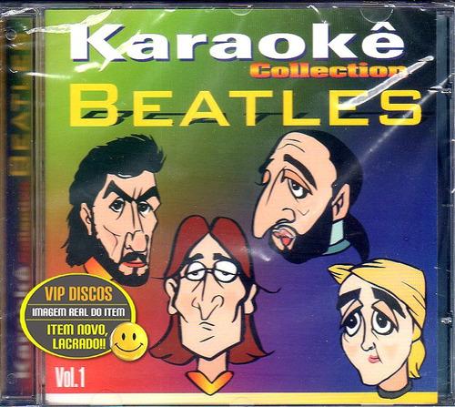 Cd Beatles Karaoke Collection Vol. 1 - Novo Lacrado Raro Original