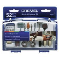 Jogo para uso geral com 52 peças Dremel Ref.687-01