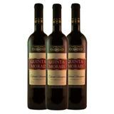 KIT 3 Vinhos Cabernet Sauvignon Seco 720ml - Quinta Moraes