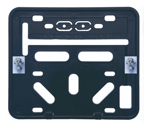 Suporte Para Placa De Moto - Retangular (universal) Original