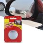 Espelho Retrovisor Auxiliar Ponto Cego Universal Cinza 50mm