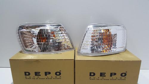 Par Lanterna Dianteira Pisca Corolla 1999 2000 2001 Depo Original