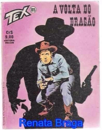 Gibi Tex Nº 85 1º Edição A Volta Do Dragão Original
