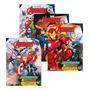 Coleção Aprendendo Caligrafia Marvel Avengers Vingadores