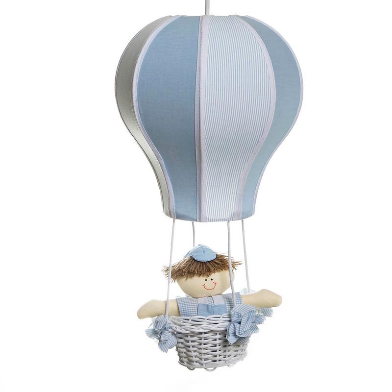 Lustre Balão Cintura Azul