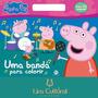 Peppa Pig Uma Banda Para Colorir
