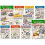 Passatempos Divertidos Para Colorir Pacote Com 10 Livros