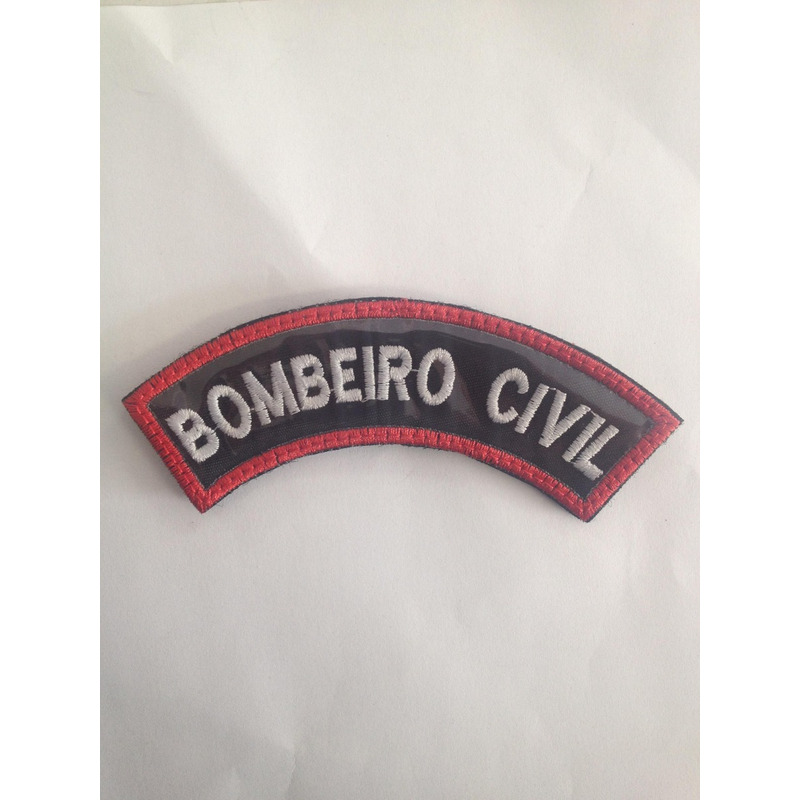 Patch / Distintivo Bordado Bombeiro Civil mod.4
