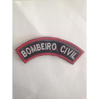 Distintivo Bordado Bombeiro Civil mod.4