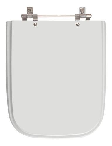 Tampa De Vaso Tivoli Cinza /silver Para Louça Ideal Standard Original