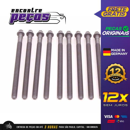 Parafuso Cabeçote Bmw 740i 4.0 V8 2005-2010 Original