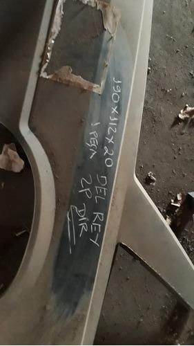 Lateral Traseira Del Rey 2 Portas Direita
