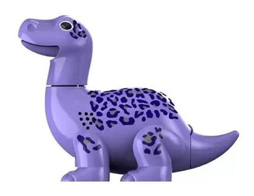 Digidinos Rugem E Cantam Brotossauro Lilás Max Dtc 3681 Original