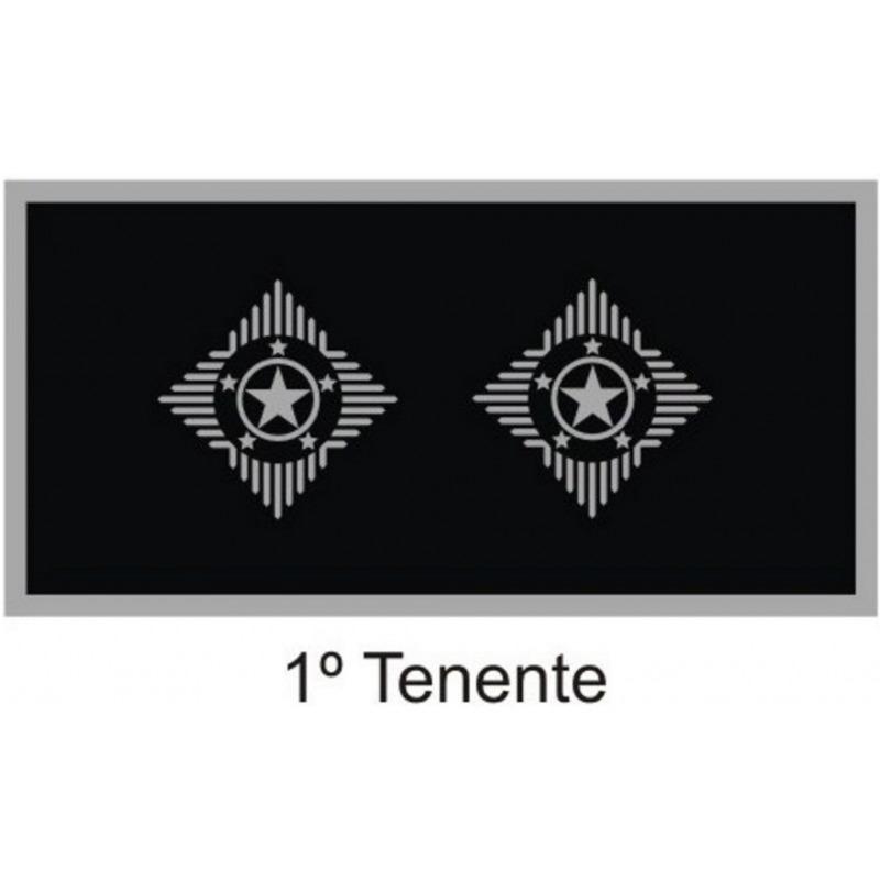 Divisa 1° Tenente PM Emborrachada - U