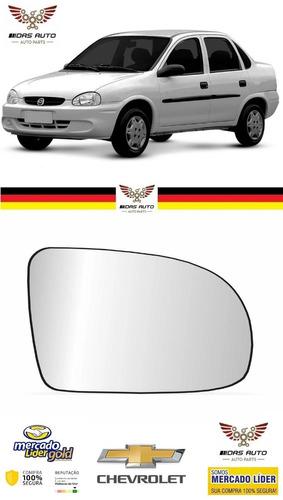 Lente Vidro Com Base Retrovisor Ld Corsa Classic Original
