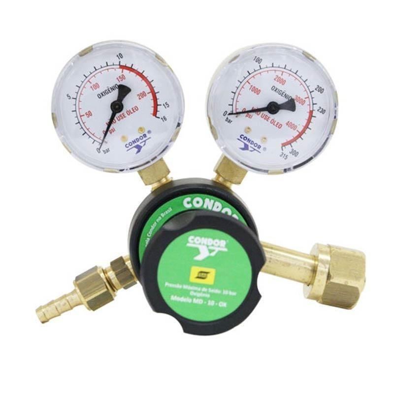 Regulador Pressão MDN 10 Oxigênio-Condor