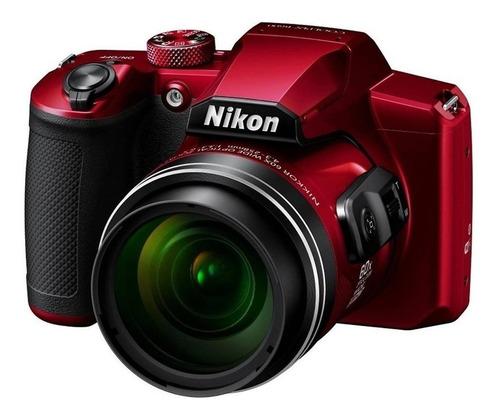 Maquina Fotográfica Digital B600 Vermelha Digital Influencia Original