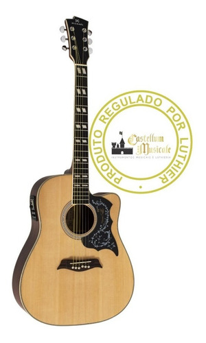 Violão Michael Folk Vm 925dtc Regulado E Testado Por Luthier Original