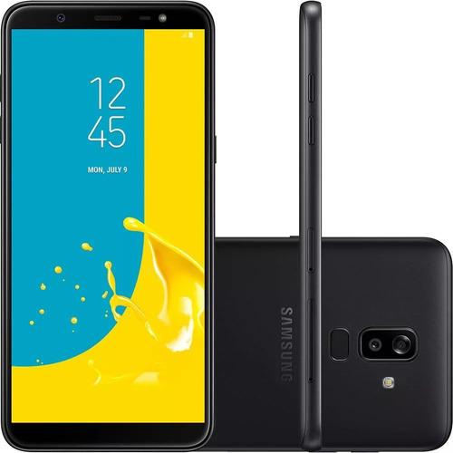 Celular Samsung J8 64gb Preto Tela 6'' 4g