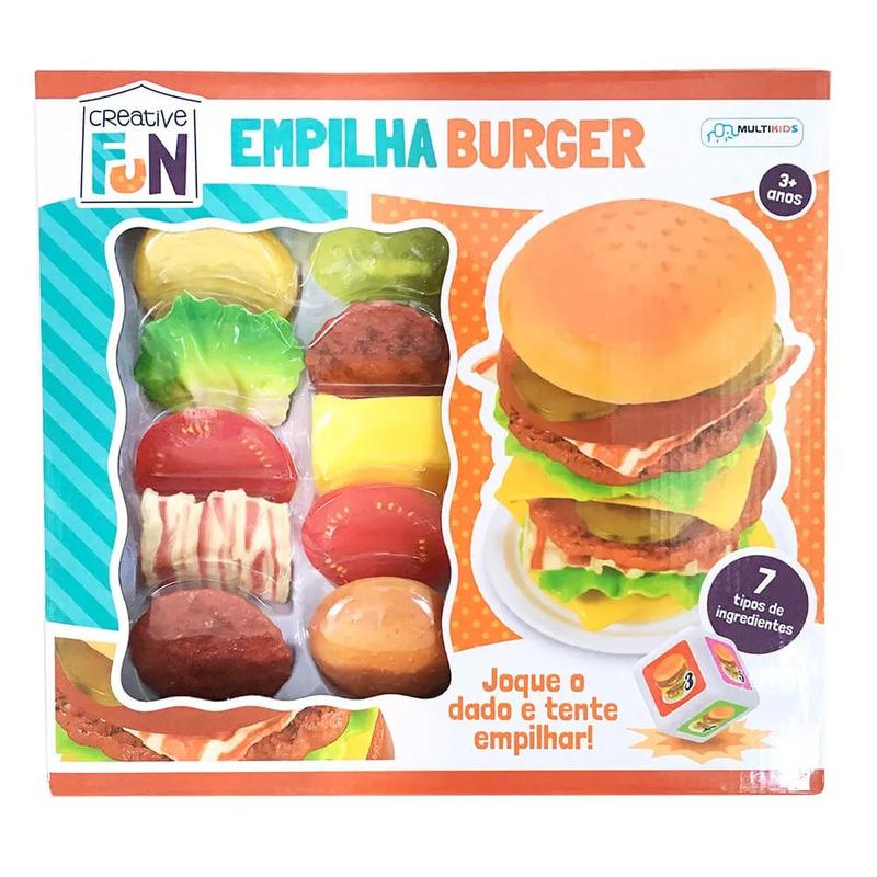 Empilha Burguer Creative Fun Multikids - BR646