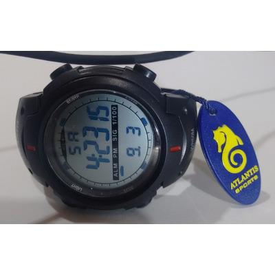 829d00e0f69 Relogio Atlantis Digital Cronometro Alarme Barato Elegante