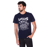 Camiseta Long Island Fisher Marinho
